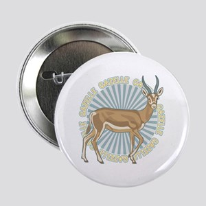 "Gazelle Animal Classic 2.25"" Button"