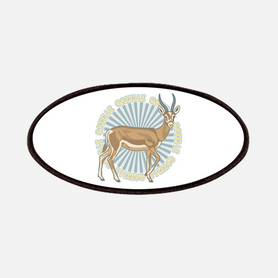Gazelle Animal Classic Patches