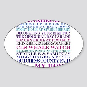 Rhinebeck is my home. Sticker