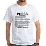 PRESS Shirt Text T-Shirt