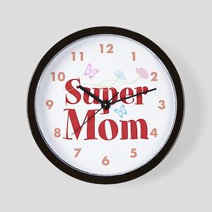 Super Mom Wall Clock