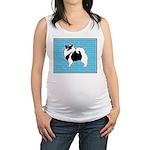Keeshond Graphics Maternity Tank Top