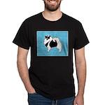 Keeshond Graphics Dark T-Shirt