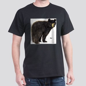Black Bear Ash Grey T-Shirt