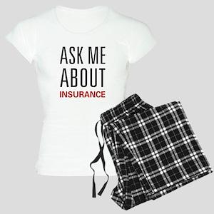 Ask Me Insurance Women's Light Pajamas