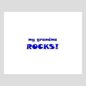 My Grandma Rocks! Small Poster
