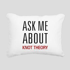 askknot Rectangular Canvas Pillow