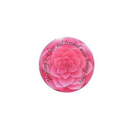 Healing is a fine art Mini Button (100 pack)