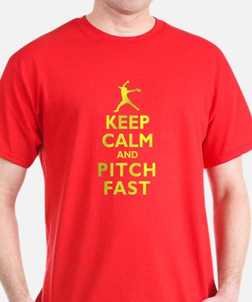 Personalized Keep Calm Baseball T-Shirt