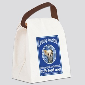 It Licked Me! Canvas Lunch Bag