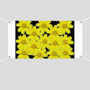 Yellow Flower Banner