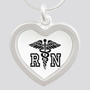 RN Nurse Caduceus Necklaces