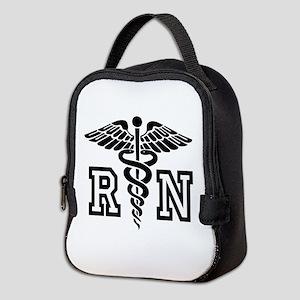 RN Nurse Caduceus Neoprene Lunch Bag