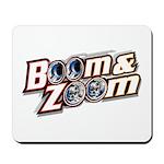 Mousepad w/Boom & Zoom Logo