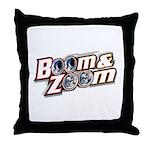 Throw Pillow w/ Boom & Zoom Logo