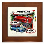 MECA Classic T Graphic on Tile w/Frame