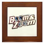 Boom & Zoom Framed Tile