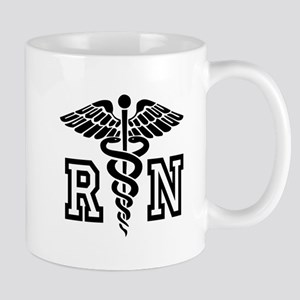 RN Nurse Caduceus Mugs