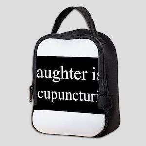 Daughter Acupuncturist Neoprene Lunch Bag