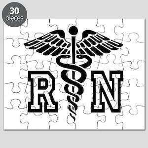 RN Nurse Caduceus Puzzle