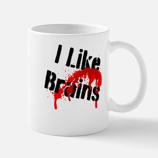 I Like Brains Mugs