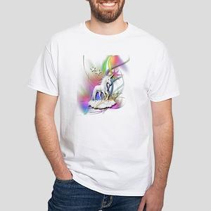 Magical Unicorn White T-Shirt
