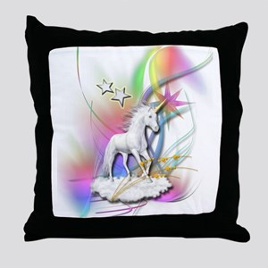 Magical Unicorn Throw Pillow
