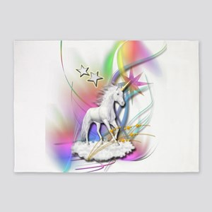 Magical Unicorn 5'x7'Area Rug