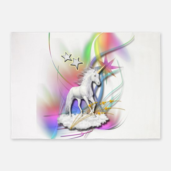 Magical Unicorn 5'x7'Area Rug