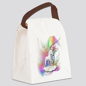 Magical Unicorn Canvas Lunch Bag