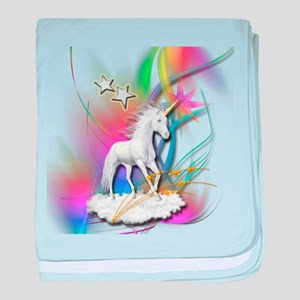 Magical Unicorn baby blanket