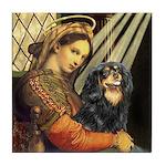 Madonna & Cavalier (BT) Tile Coaster