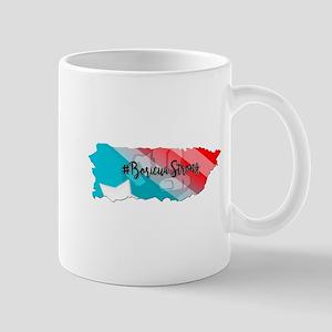 boricua island strong Mugs