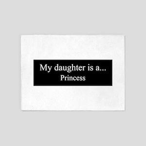 Daughter - Princess 5'x7'Area Rug