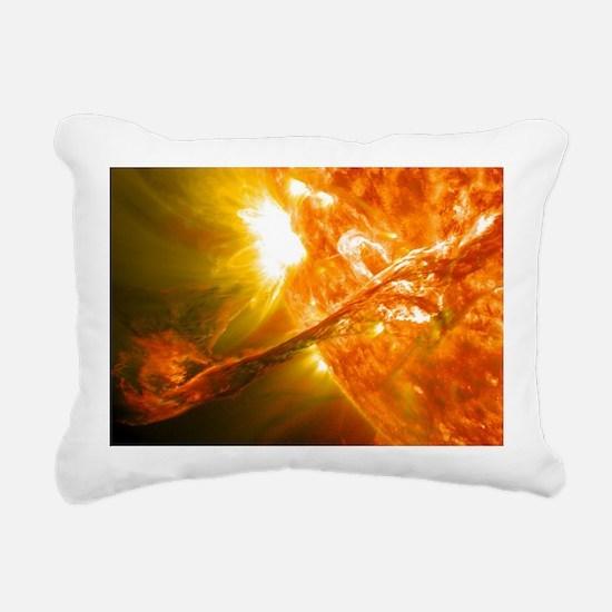 Solar Flare Rectangular Canvas Pillow