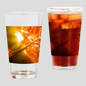 Solar Flare Drinking Glass