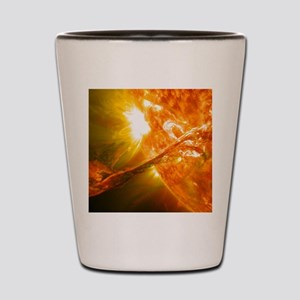 Solar Flare Shot Glass