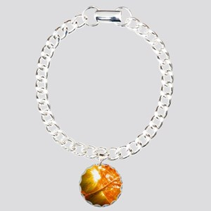 Solar Flare Charm Bracelet, One Charm