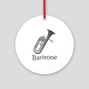 Baritone Ornament (Round)