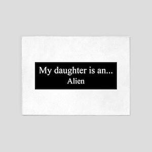 Daughter - Alien 5'x7'Area Rug