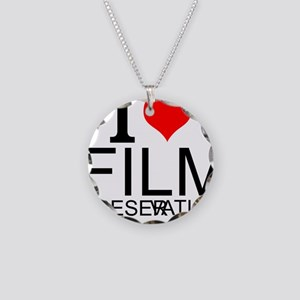 I Love Film Preservation Necklace