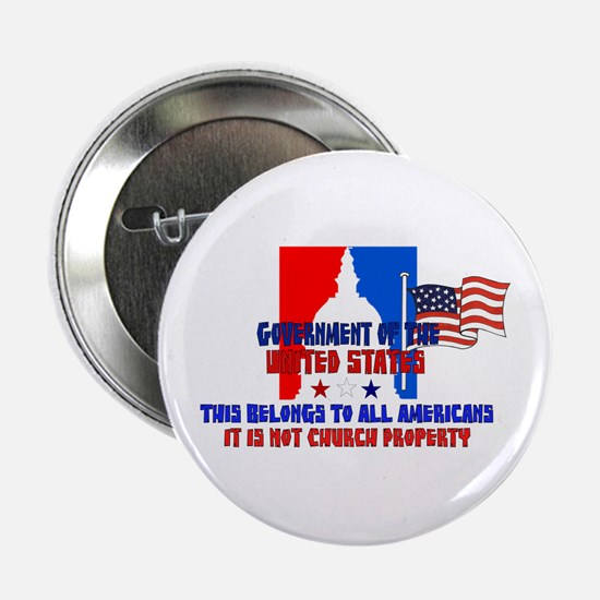 "Not Church Property 2.25"" Button"