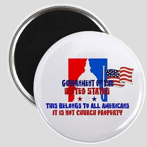 Not Church Property Magnet