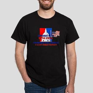 Not Church Property Dark T-Shirt