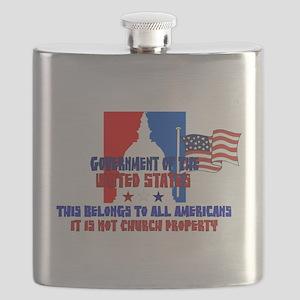 Not Church Property Flask