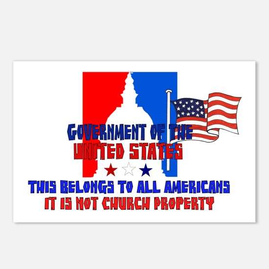 Not Church Property Postcards (Package of 8)
