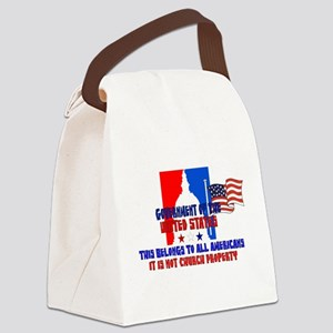 Not Church Property Canvas Lunch Bag