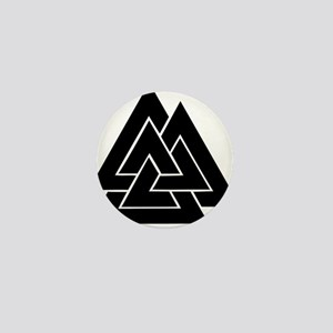 Valknut Mini Button