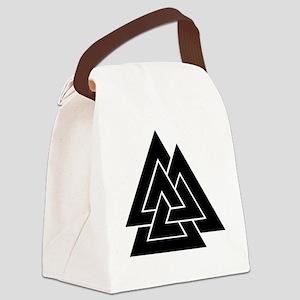 Valknut Canvas Lunch Bag