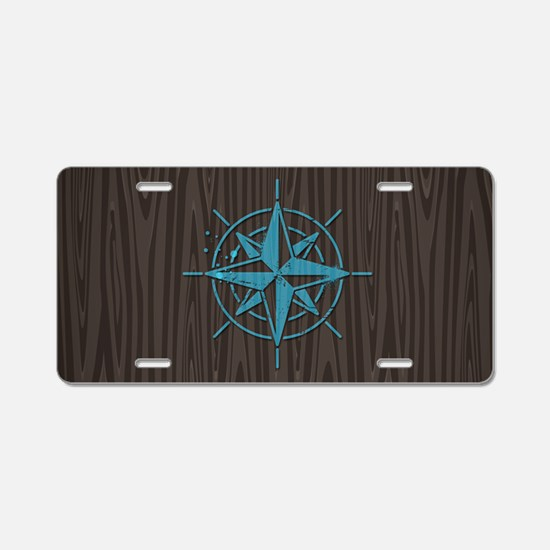 Nautical Aluminum License Plate